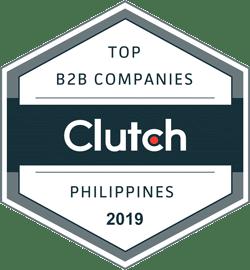 Clutch Top B2B Companies Philippines 2019 Badge