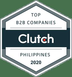 Clutch Top B2B Companies Philippines 2020 Badge