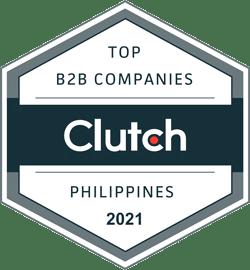 Clutch Top B2B Companies Philippines 2021 Badge
